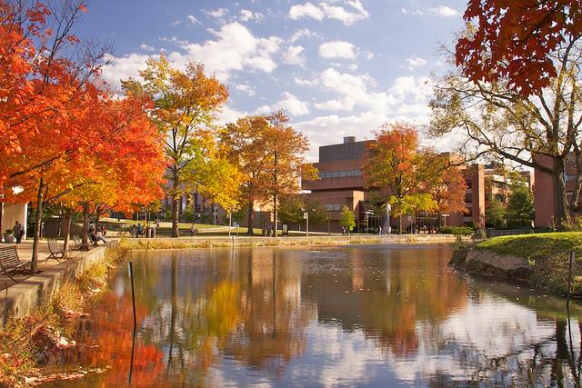 UMBC Campus - Fall 2010